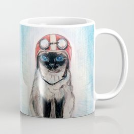 Aviator Cat Coffee Mug