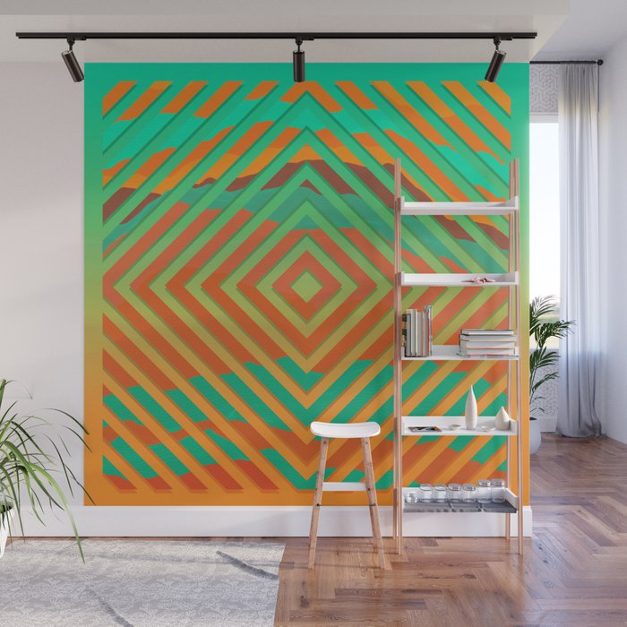 TOPOGRAPHY 2017-021 Wall Mural