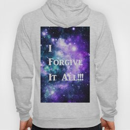 Teal Violet Galaxy : I Forgive It All Hoody