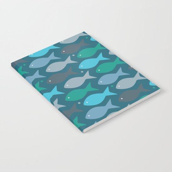 fish pattern  Notebook
