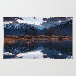 Sierra Nevada Mountains Rug