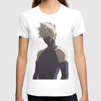 kakashi T-shirts featuring Kakashi Hatake  by Iotara