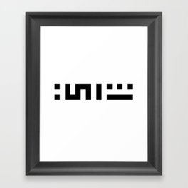 Chai aka Tea Framed Art Print