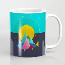047 Owly travelling through vast cosmic sea Coffee Mug