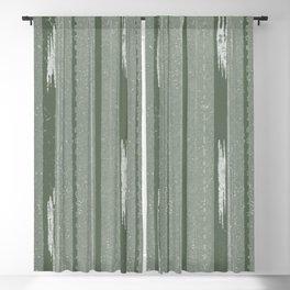 Mid-Century Bamboo Stripe Minimalist Pattern Blackout Curtain