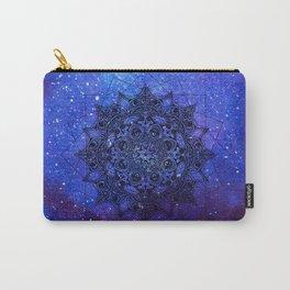 Anatomandala II x Watercolor Nebula Carry-All Pouch