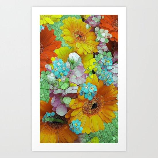 the Joys of Summer Art Print