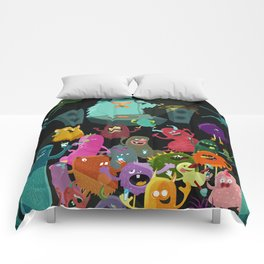 The mezcal monsters Comforters