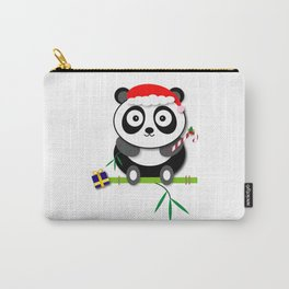 Holiday Panda Carry-All Pouch