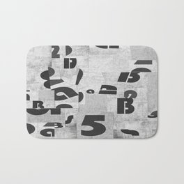 Abstract pattern 51 Bath Mat