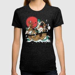 Miyazaki's ark T-shirt
