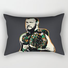Conor McGregor Pop art quote Rectangular Pillow