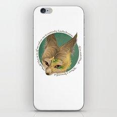 fox and mask  iPhone & iPod Skin