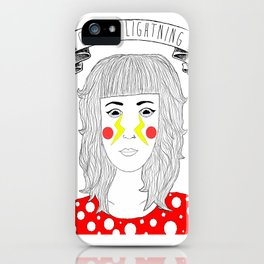 Crying Lightning by Arctic Monkeys inspired iPhone Case