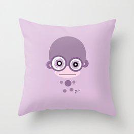 Amazed Jiggin Monkey Throw Pillow