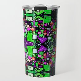 Tate - Created by a Genius (Square/Sym/Gre) Travel Mug