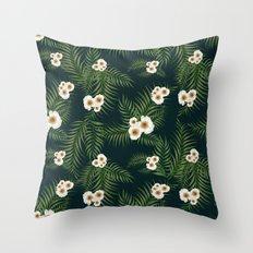 Gloomy Jungle Pattern #society6 #decor #buyart Throw Pillow
