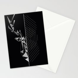 GEO DEER Stationery Cards
