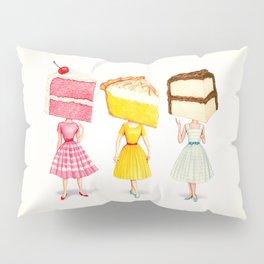Cake Head Pin-Ups Pillow Sham