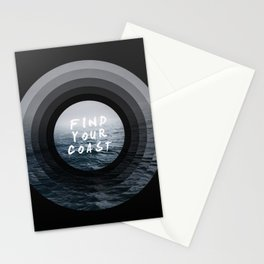 Find Your Coast Stationery Cards