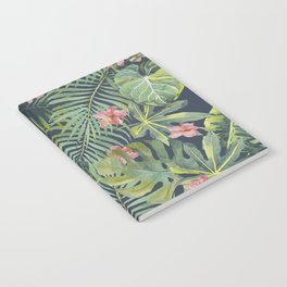 Palm Leaves Pattern 13 Notebook