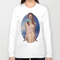 ultraviolence Long Sleeve T-shirts featuring I Hear The Birds by Wis Marvin
