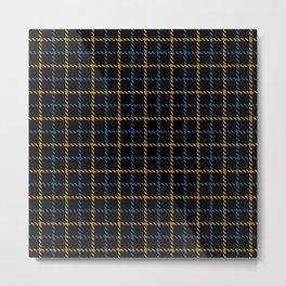 Aberdeen, Alpine,  Resolution Blue,  Camel, Tattered Salvatore Metal Print