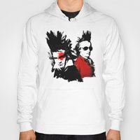 mozart Hoodies featuring Beethoven Mozart Punk Composers by viva la revolucion