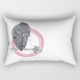 crow ring Rectangular Pillow
