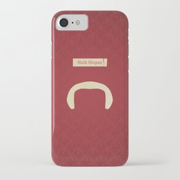 Hogan (Famous mustaches and beards) iPhone Case