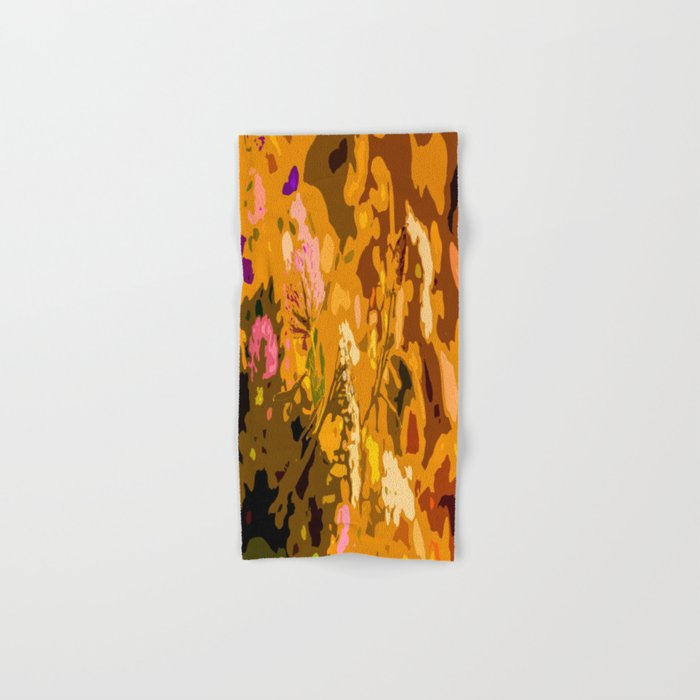 Autumn bouquet wildflowers #decor #society6 Hand & Bath Towel