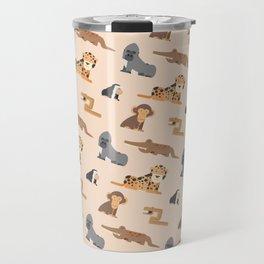 Jungle animals wilderness pattern tropics tropical Travel Mug