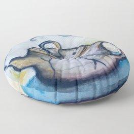 Steamed Floor Pillow