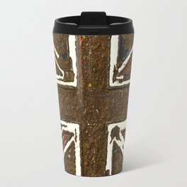 The rusted Union Jack Travel Mug