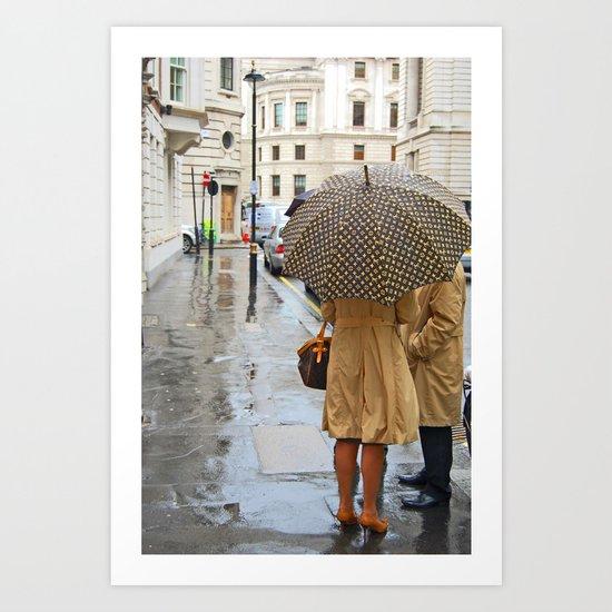 Rainy Loui London Art Print
