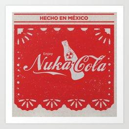 An Ice Cold Nuka Cola - Fallout Universe Art Print