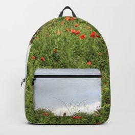 Poppies on a Hill Backpack