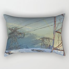 Intrusion Rectangular Pillow