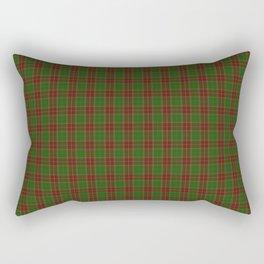 Official Baxter Clan Tartan of 1856 Rectangular Pillow