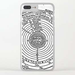 Celestial Orbs in the Latin Middle Ages Clear iPhone Case