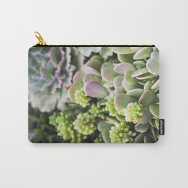 Blushing Succulents Carry-All Pouch