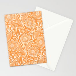 Sherbet Coneflowers Stationery Cards