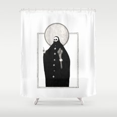 The Tarot of Death Shower Curtain
