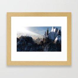 Fantasy Castle Framed Art Print