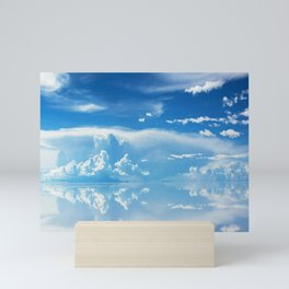 Salt Flats of Salar de Uyuni, Bolivia #3 Mini Art Print