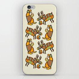 Moose & Bear iPhone Skin