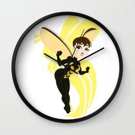 The Incredible Shrinking Hero Wall Clock