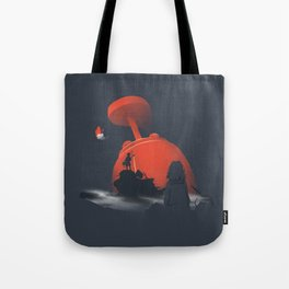 Furi Kuri - Nothing amazing happens here Tote Bag