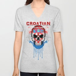 To The Core Collection: Croatia Unisex V-Neck