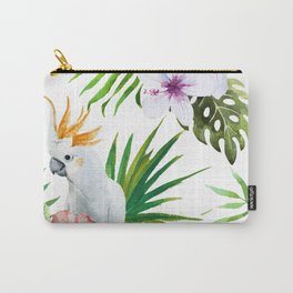 Tropical Bird Pattern 03 Carry-All Pouch